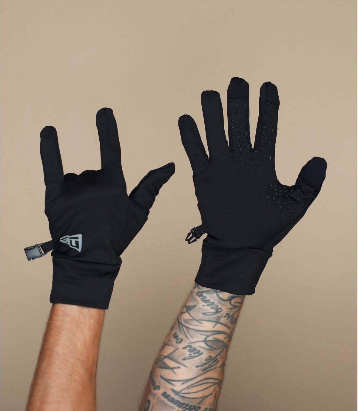 smart touch zwarte handschoenen