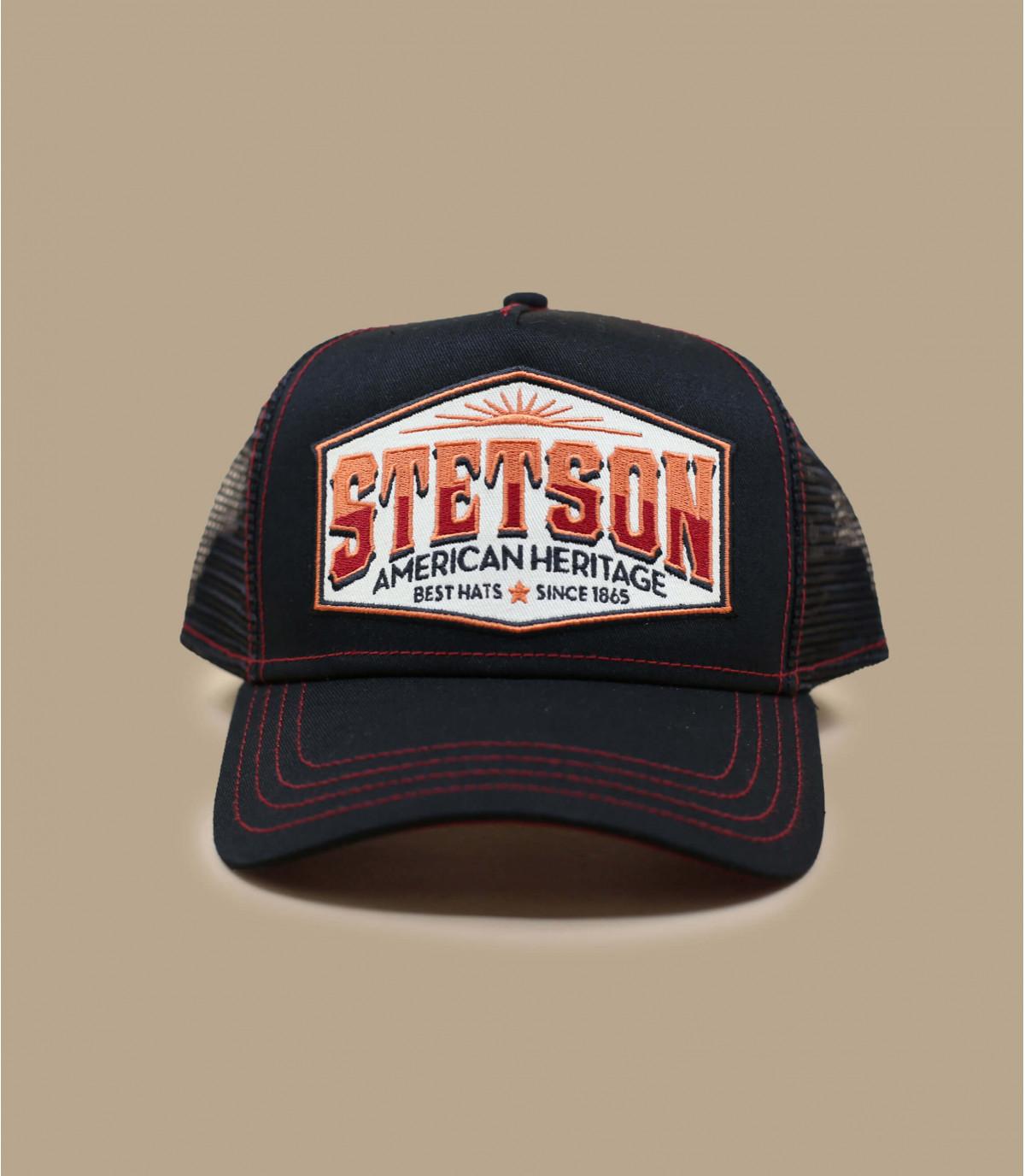 zwarte trucker Stetson