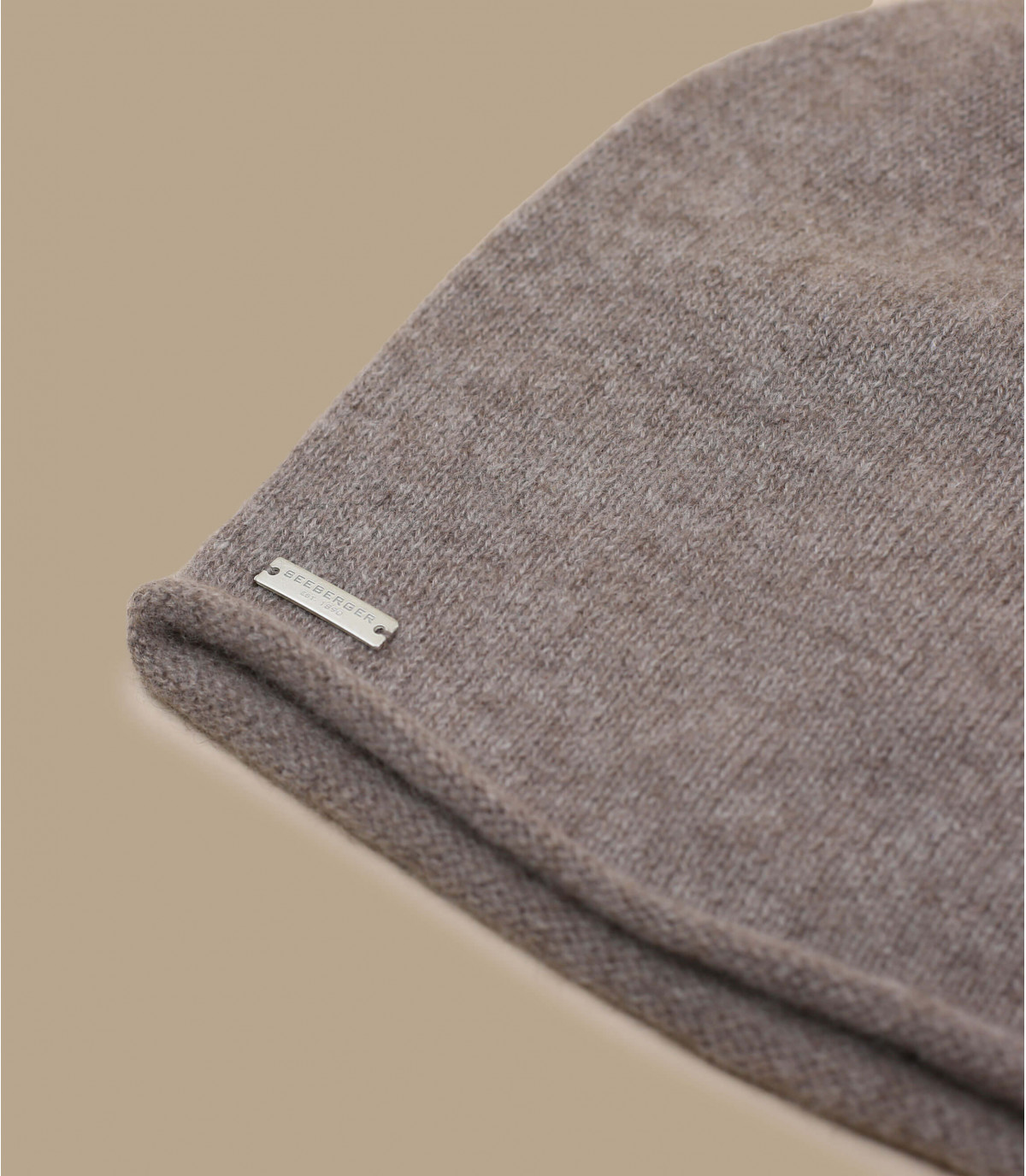 Details Nutria cashmere beanie - afbeeling 3
