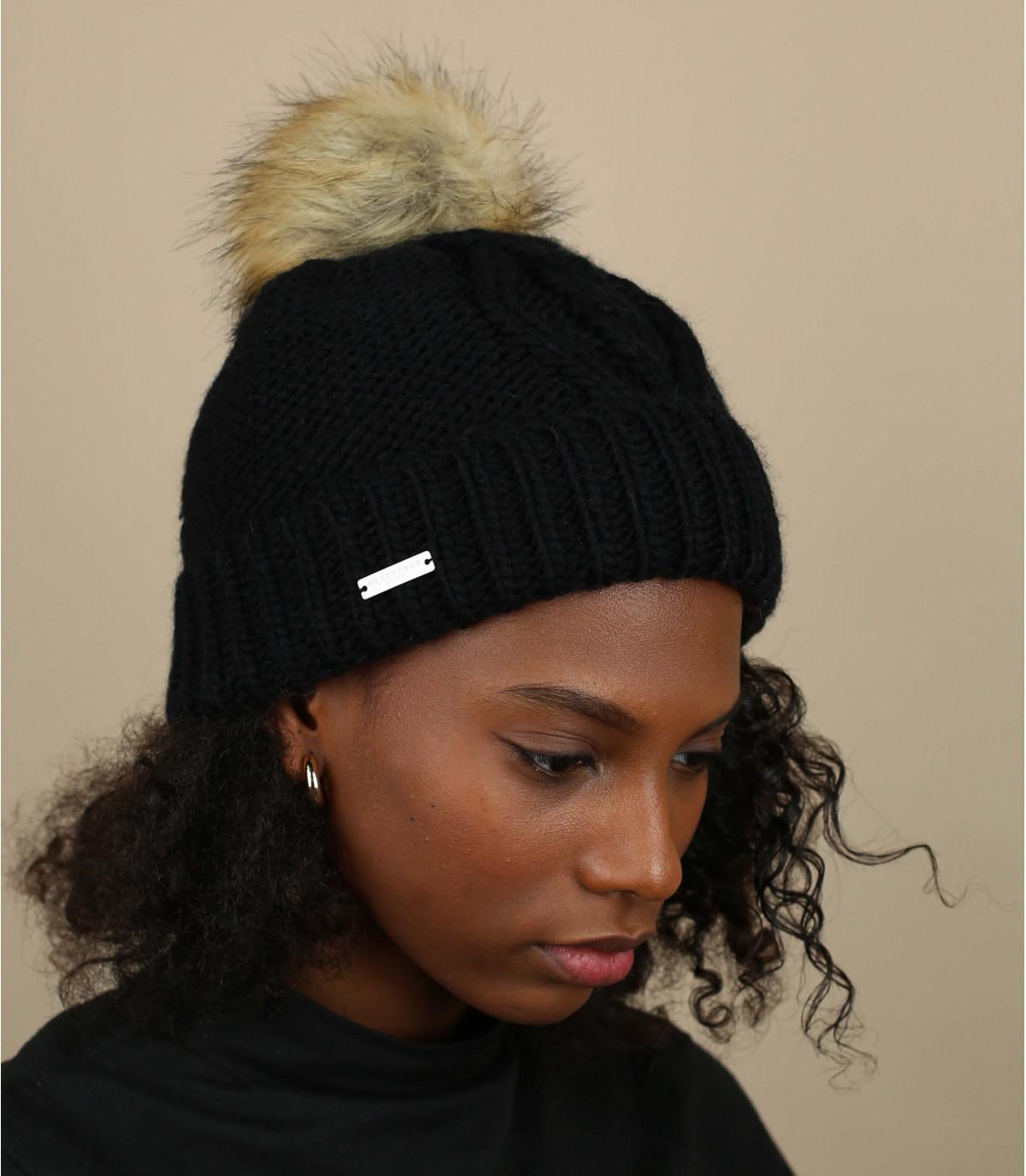 hoed revers zwarte kwast