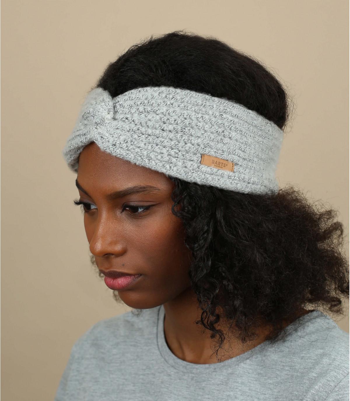 Barts grijze hoofdband
