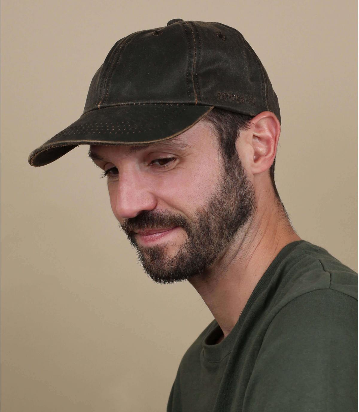 Herren bruin baseball cap