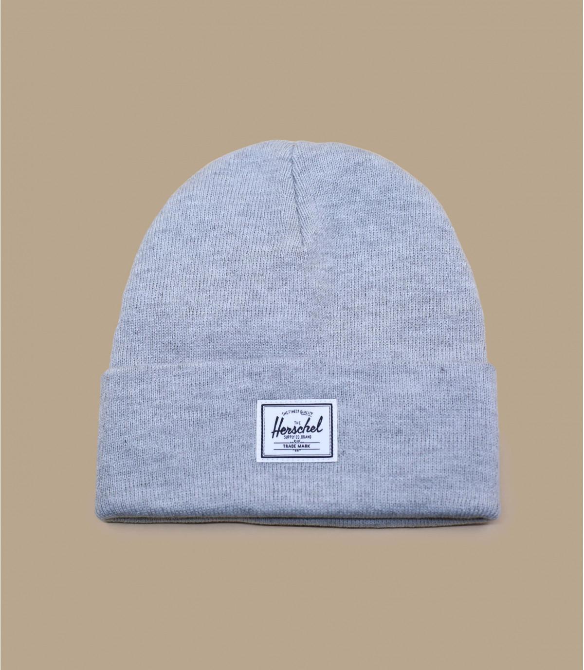 Herschel grijs gespikkeld cap