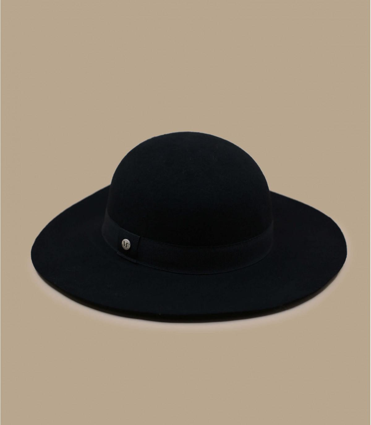 zwarte wol capeline