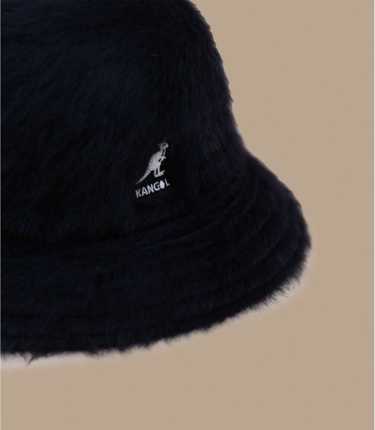 Kangol zwarte bucket