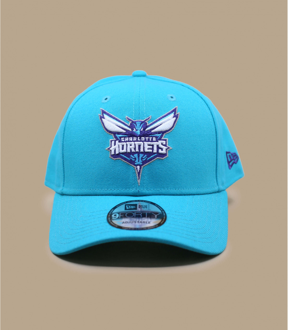 cap Hornets blauwe curve
