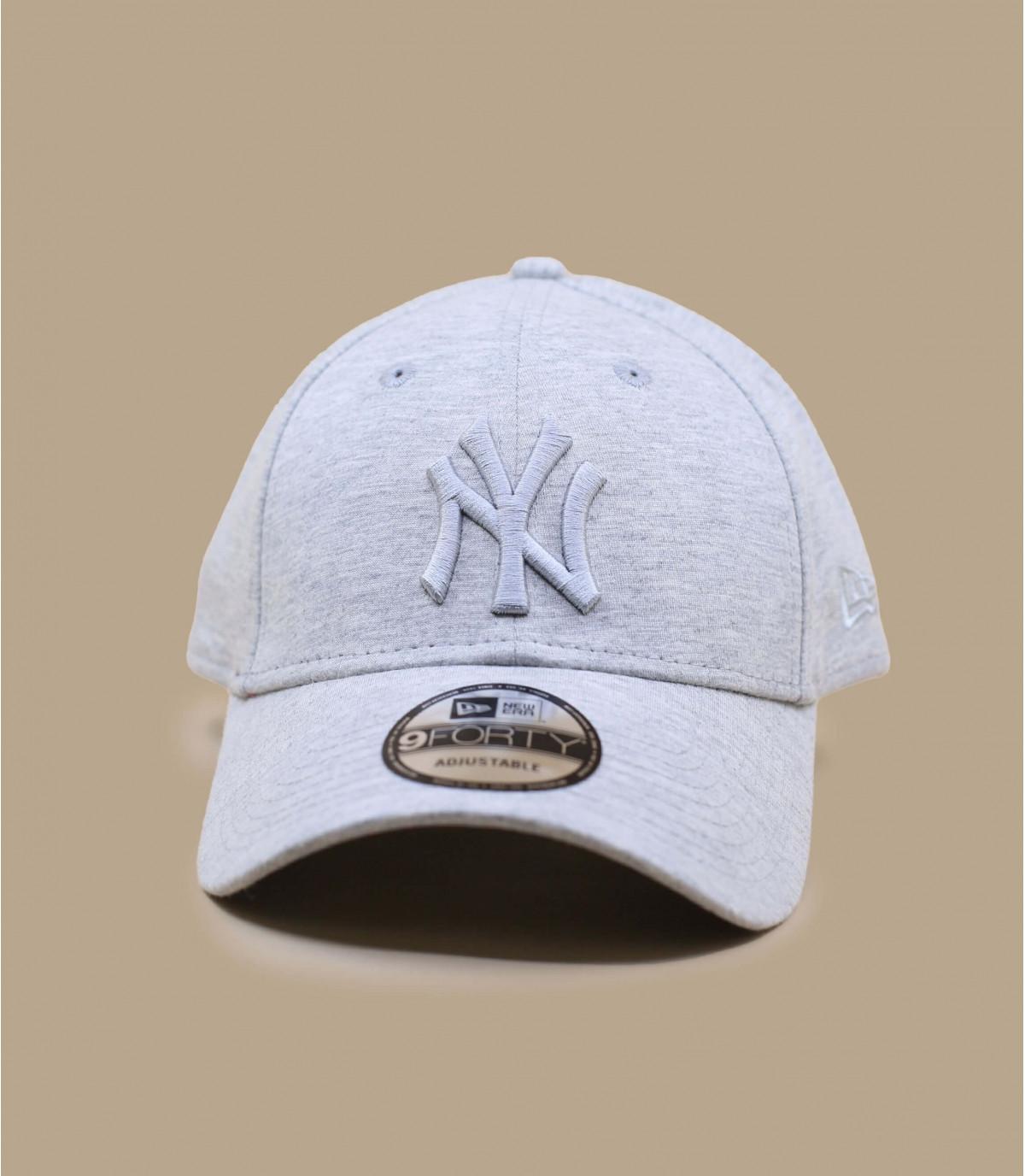grijze NY-cap