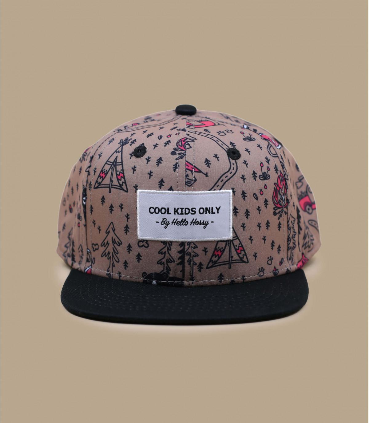 print cap voor boskinderen