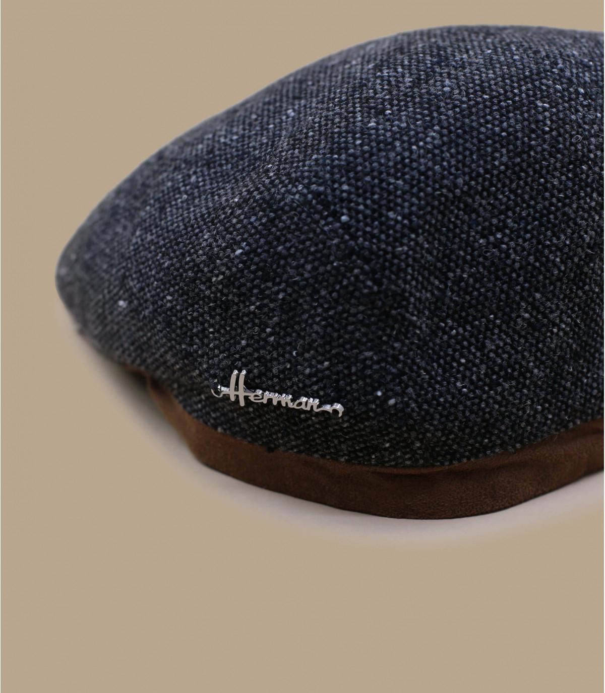 grijze wol baret Herman