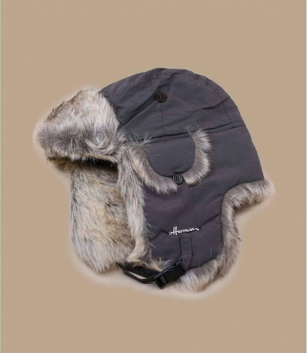 bruine vacht hoed