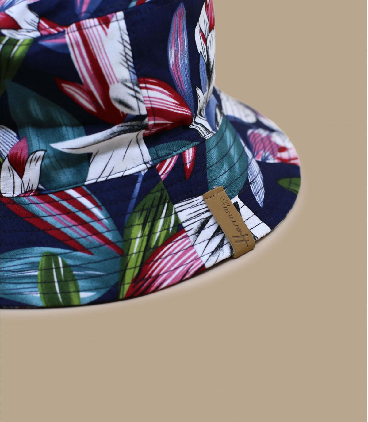 Details Bucket Floral navy - afbeeling 2