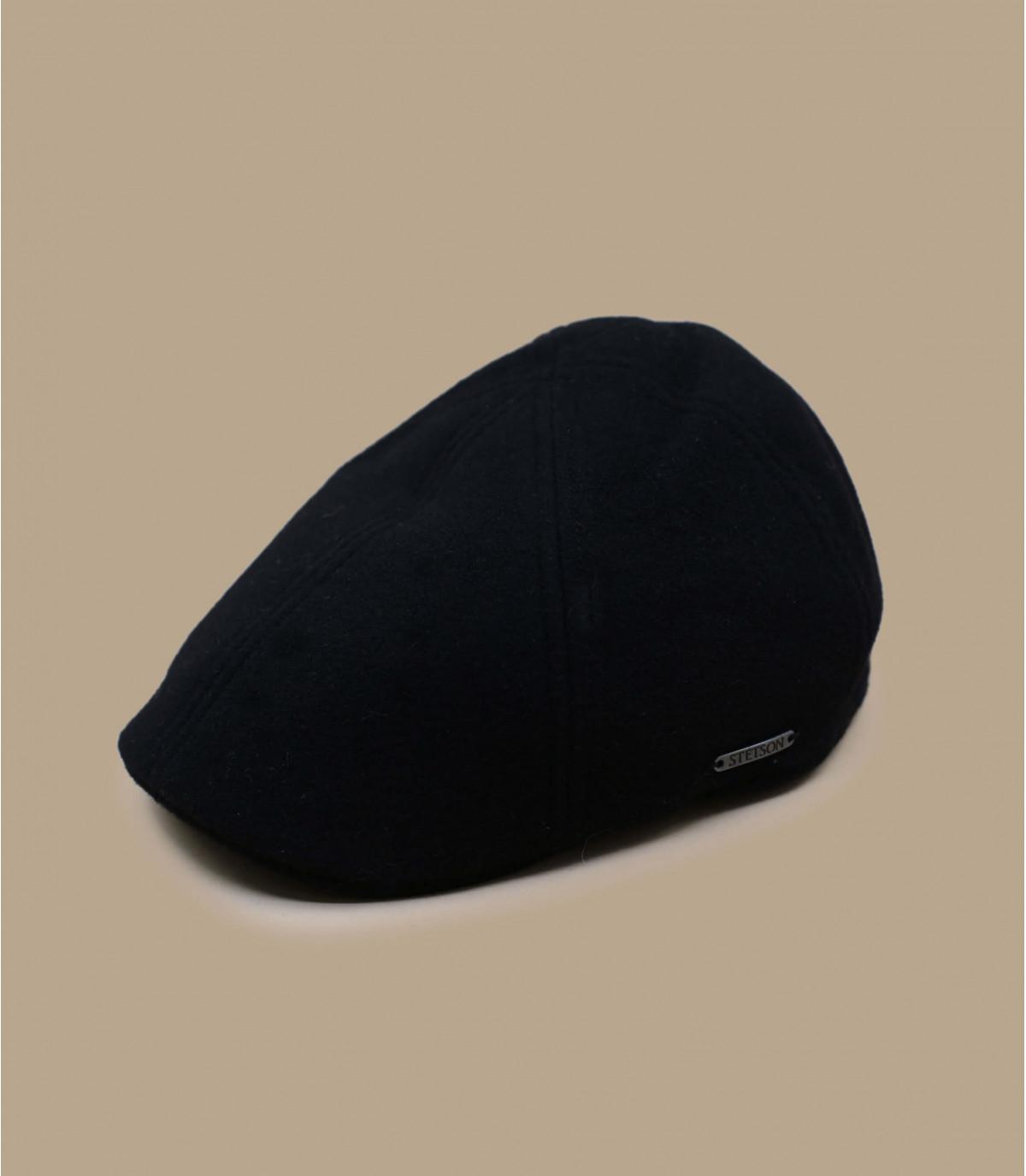 cashemere zwarte pet