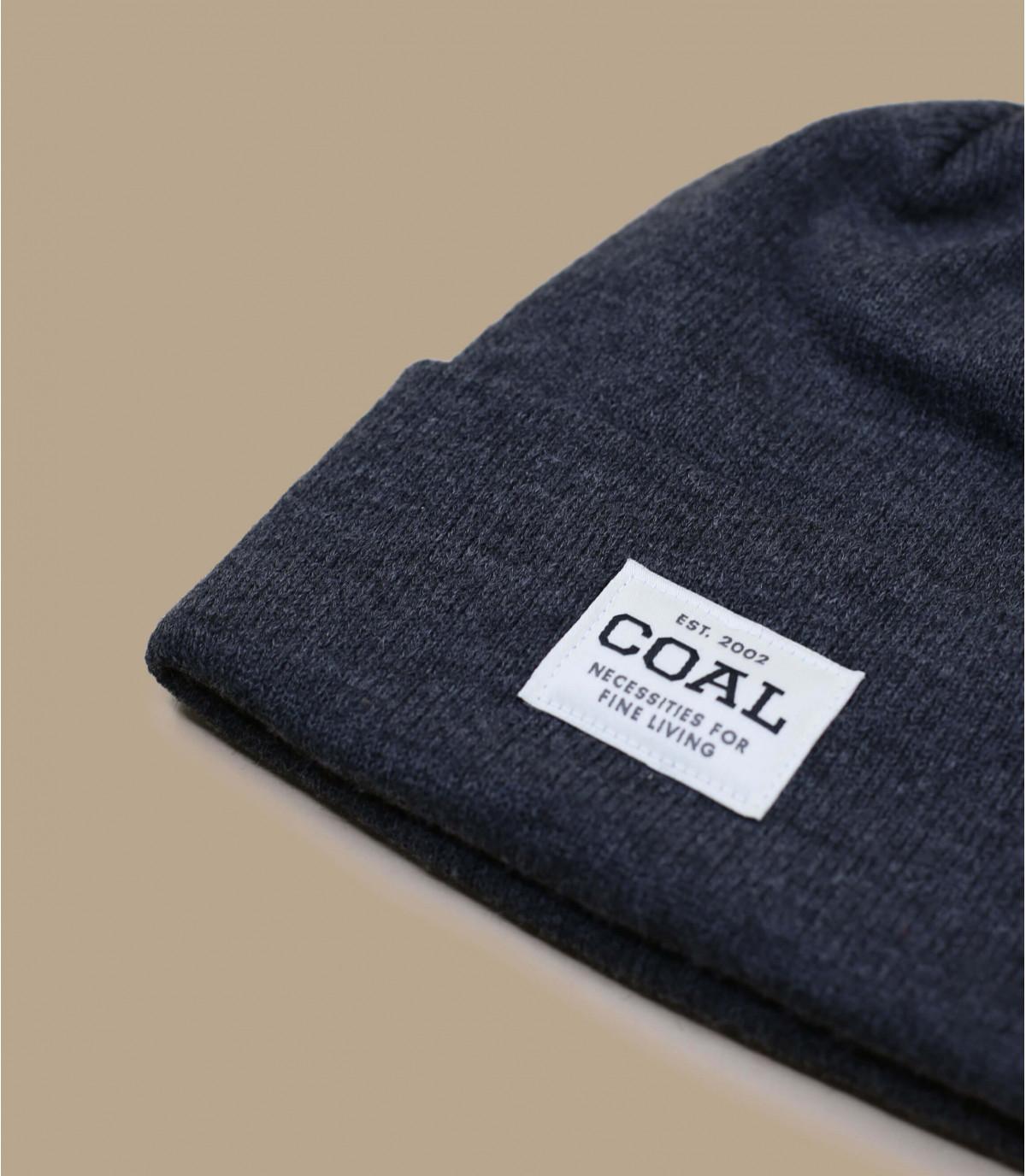 hoed revers grijs patch