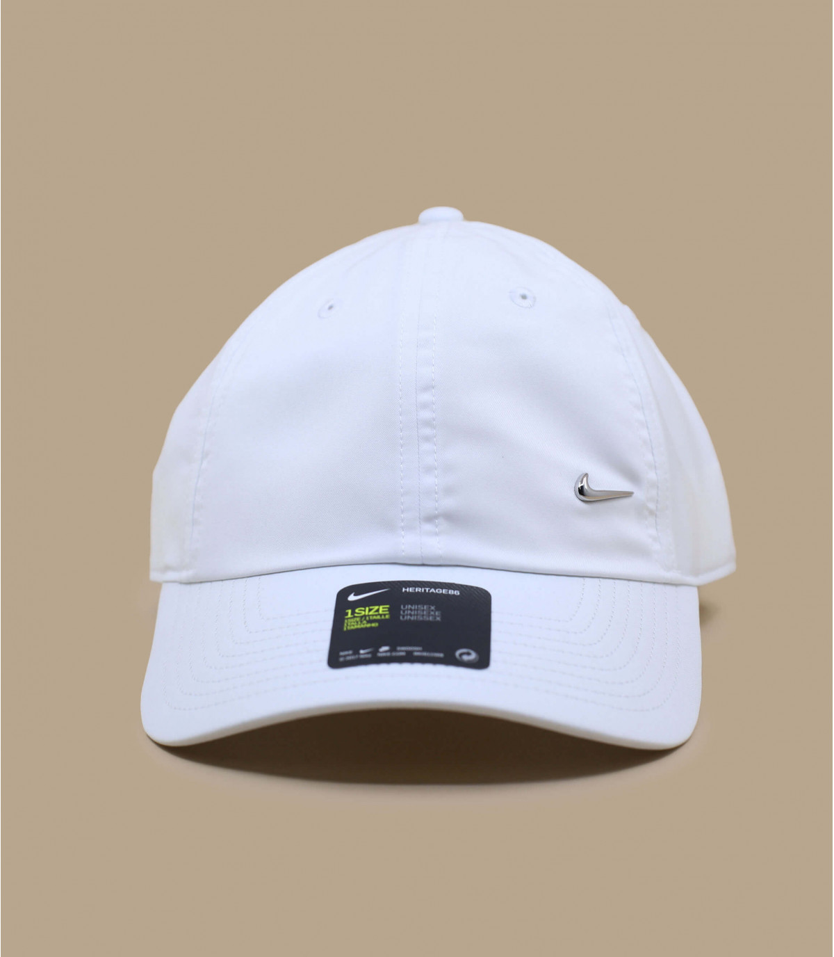 Nike witte pet