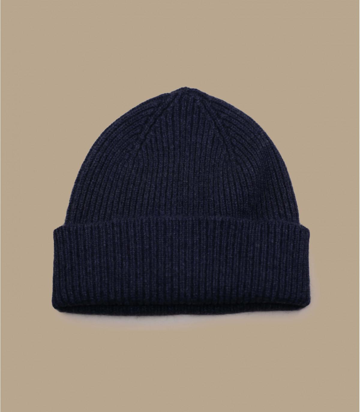 hoed revers grijze angora