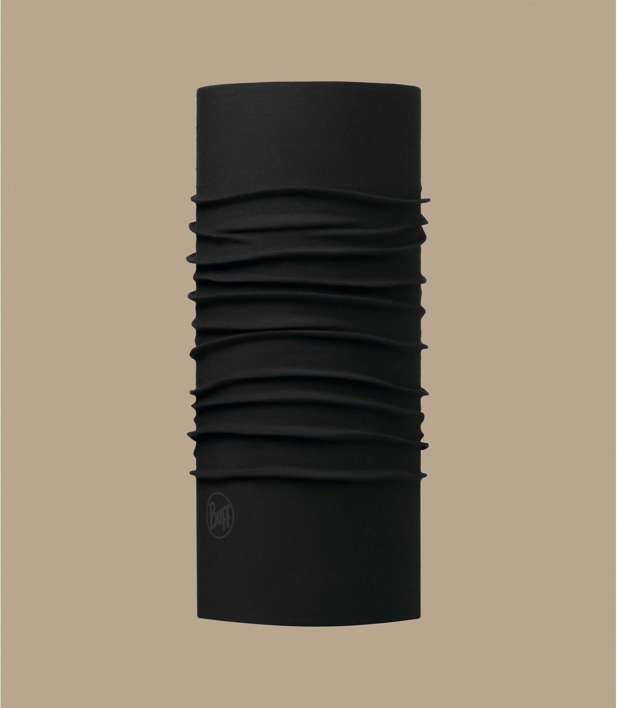 Zwart Buff microfibers