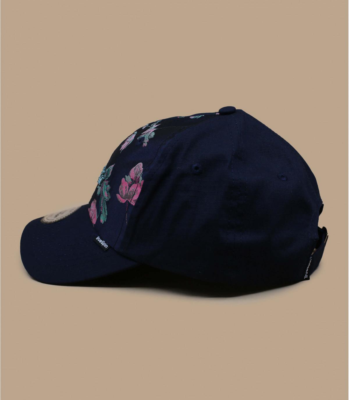 Details Tuan floral navy - afbeeling 2