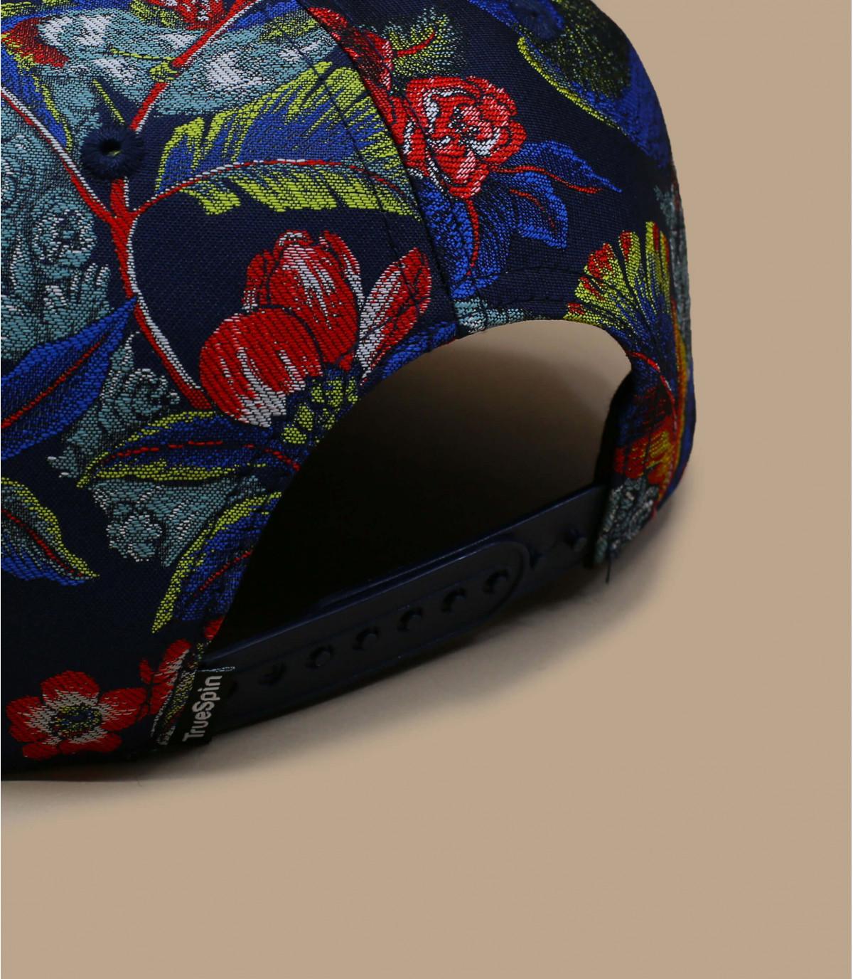 Details Snapback Shokufe floral navy - afbeeling 3