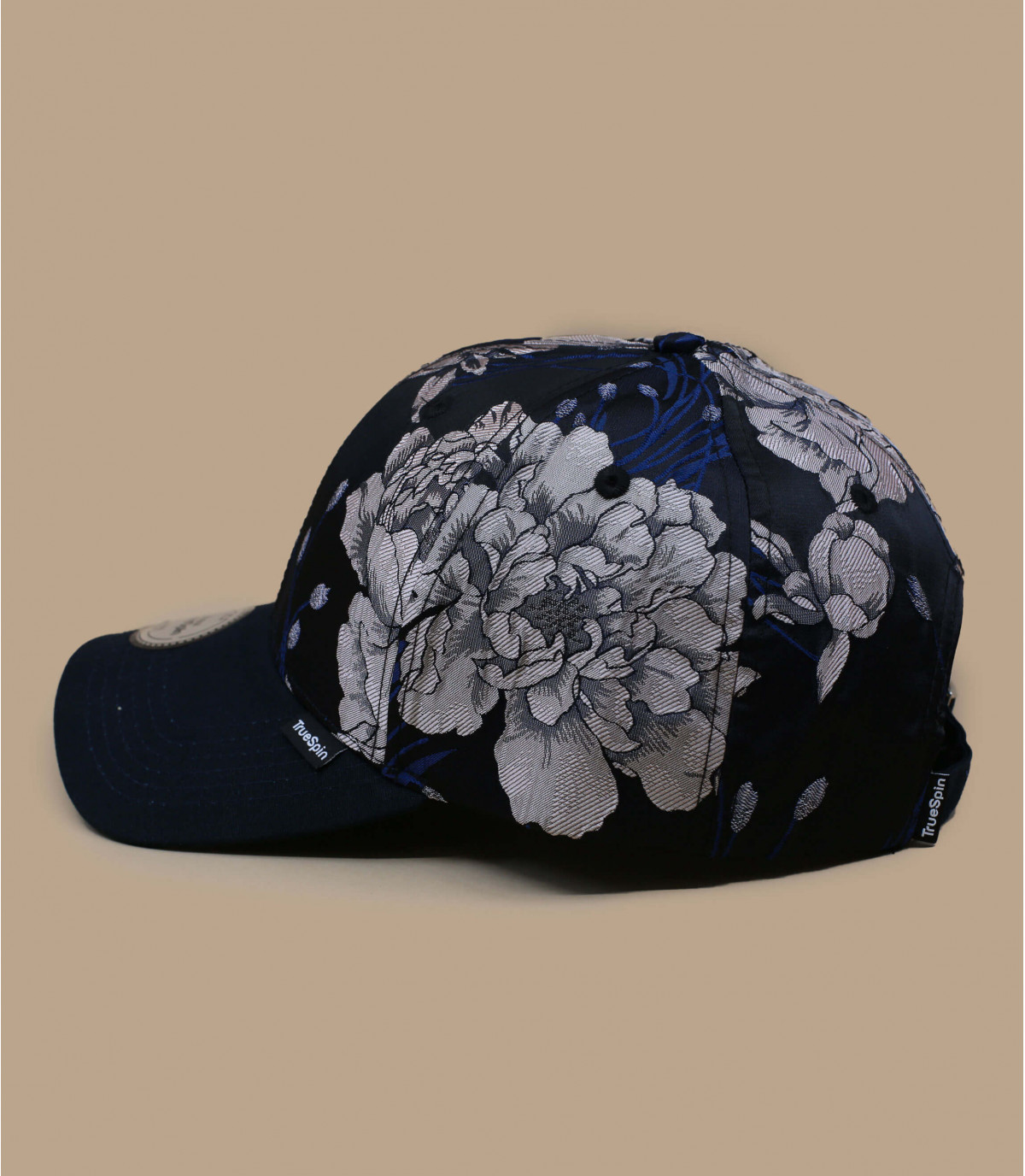 Details Adrian floral navy - afbeeling 2