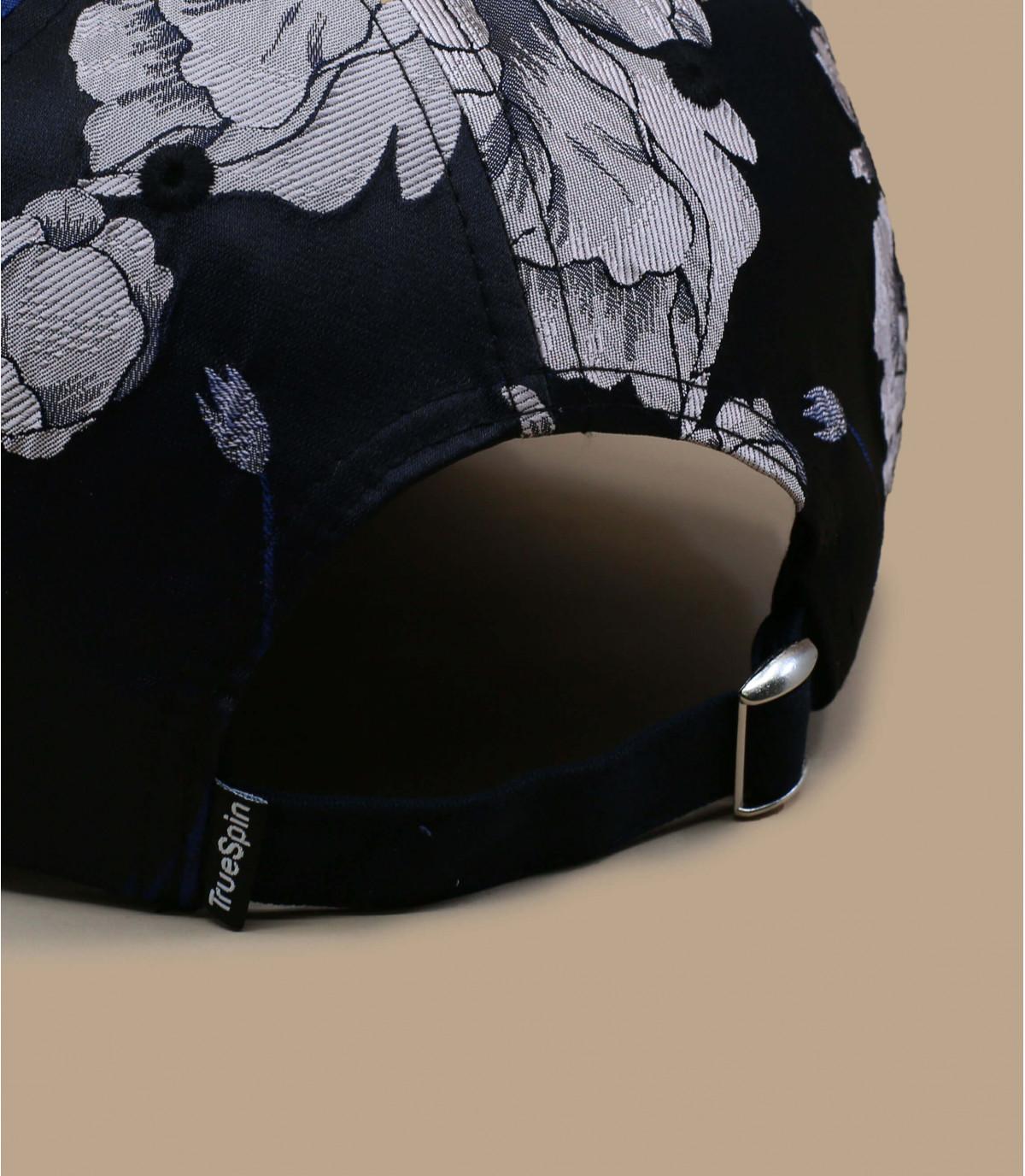 Details Adrian floral navy - afbeeling 3