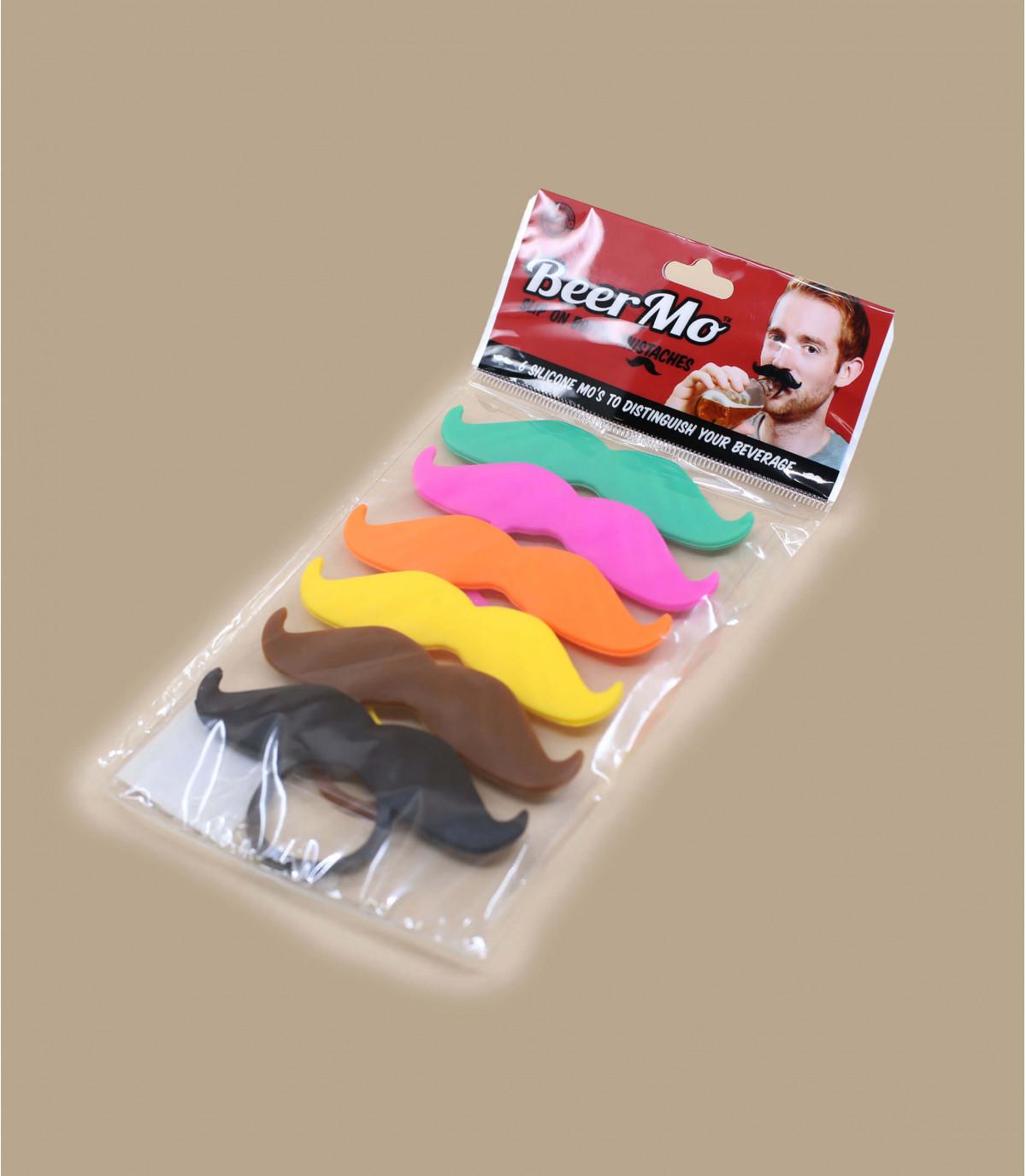 Color mustache