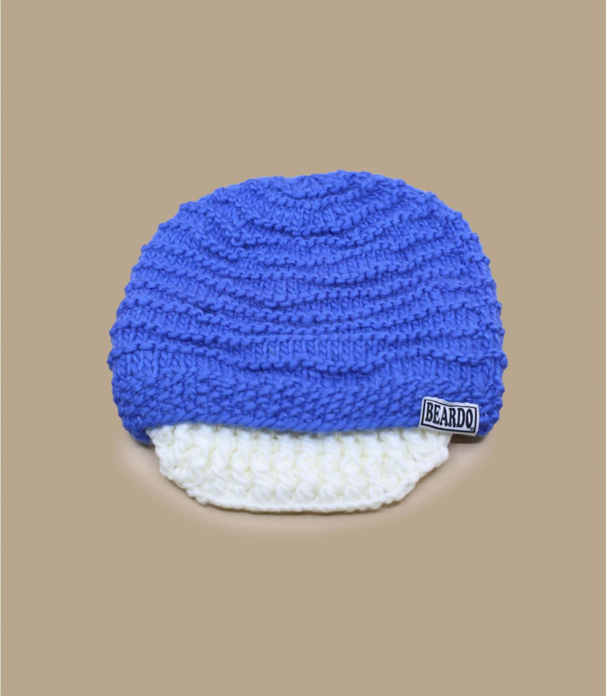 Baardmuts blauw
