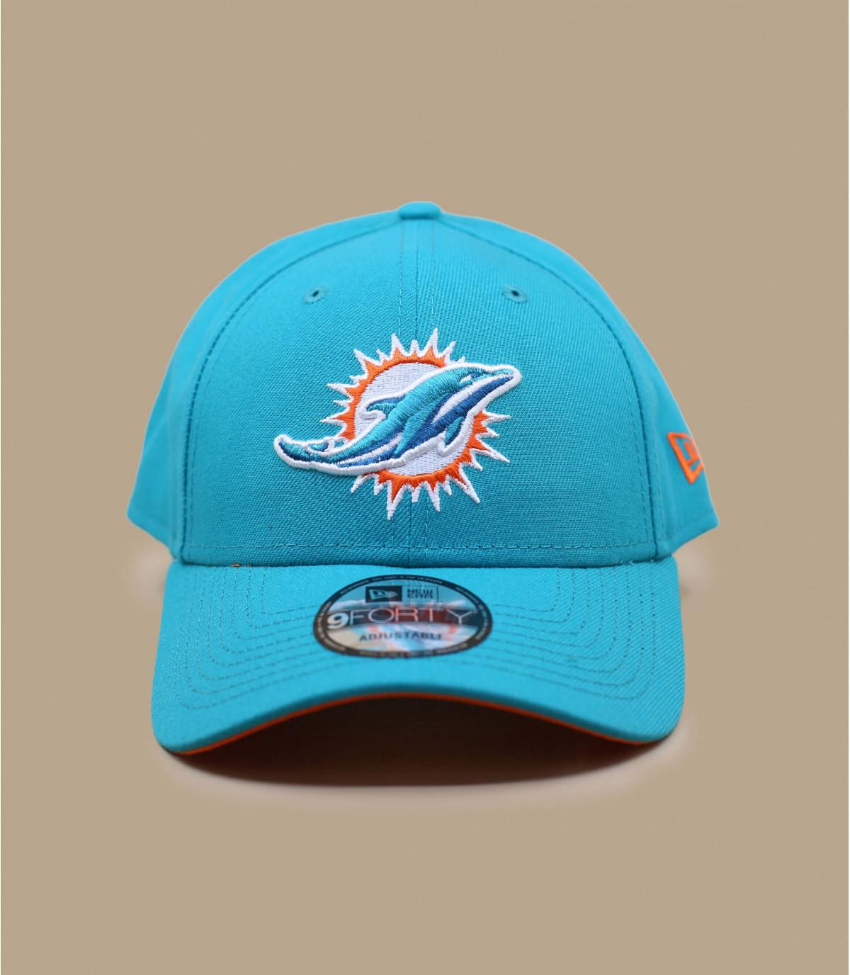 Dolfijnen cap blauwe curve