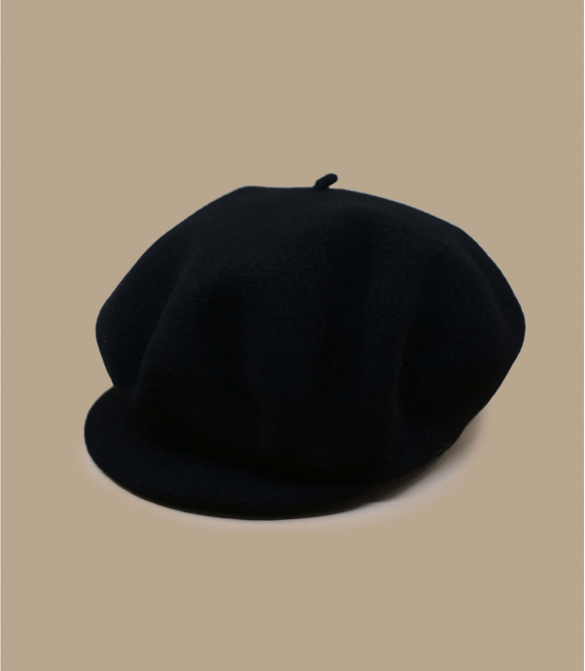 zwarte wol baret baret
