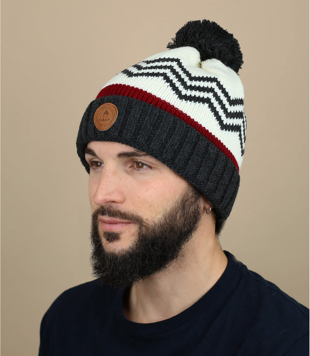 driekleurige gestreepte hoed