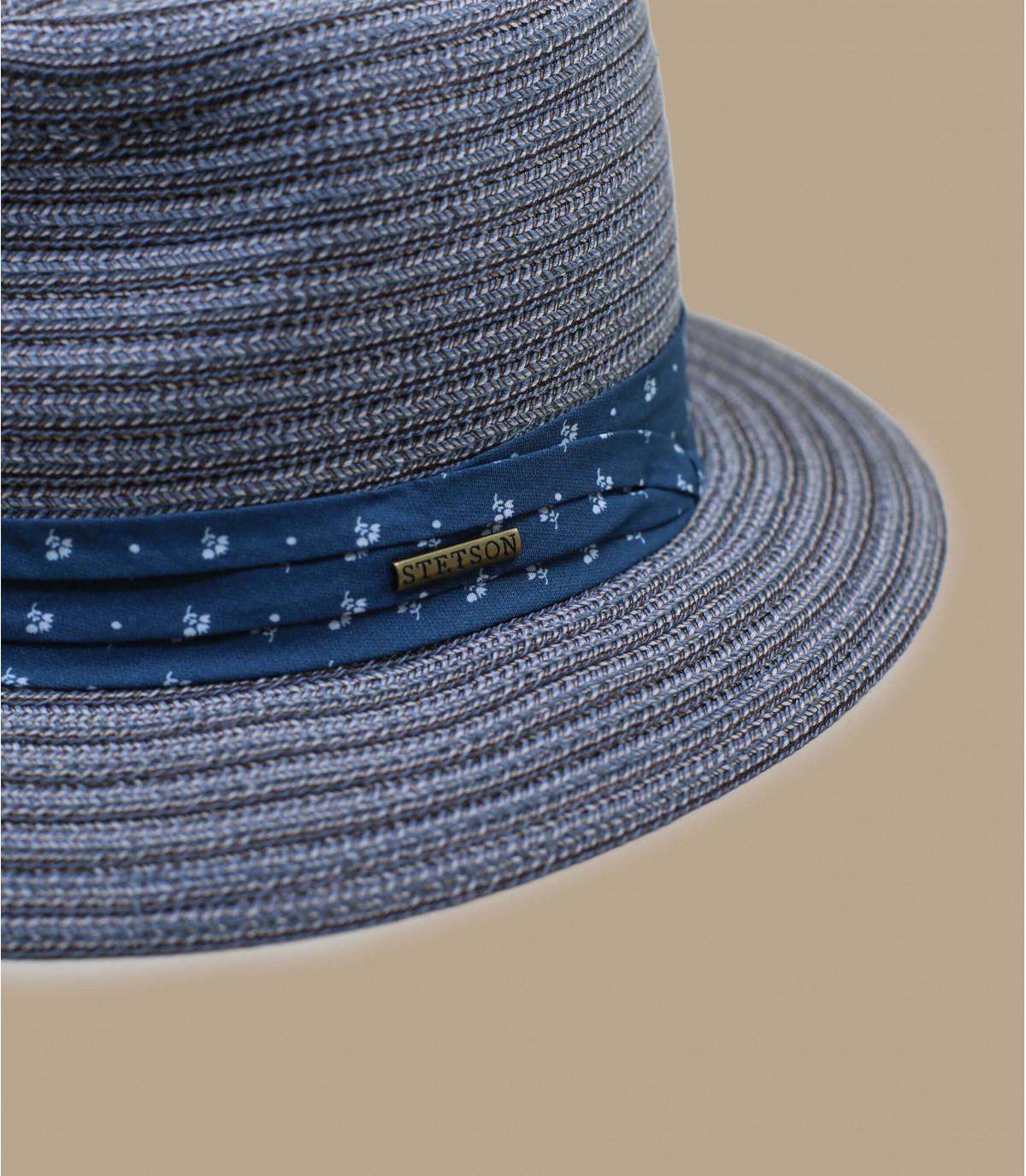 Details Traveller stripe braid blue grey - afbeeling 2