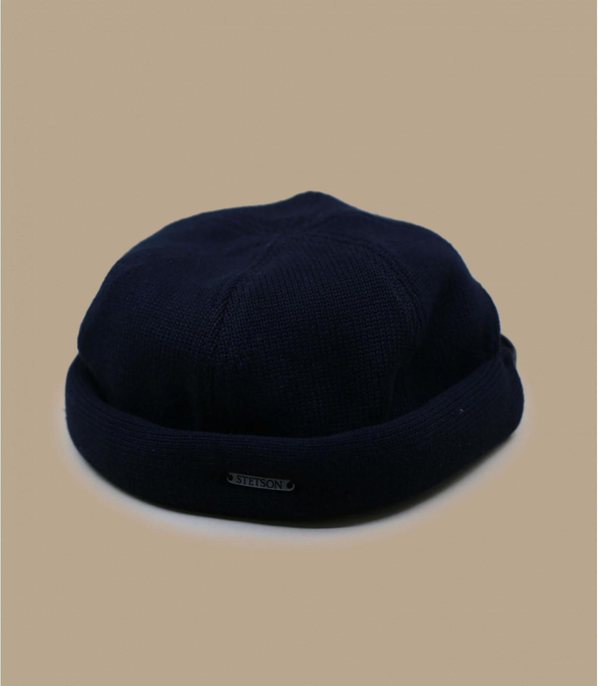 havenarbeider zwarte katoenen cap