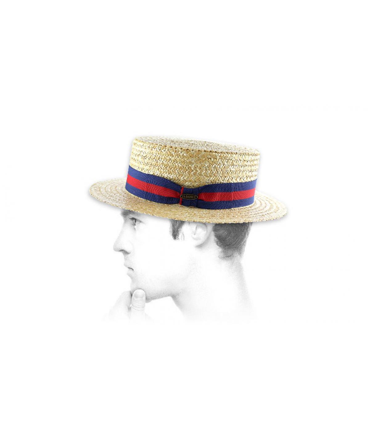 Canotier hoed Flechet
