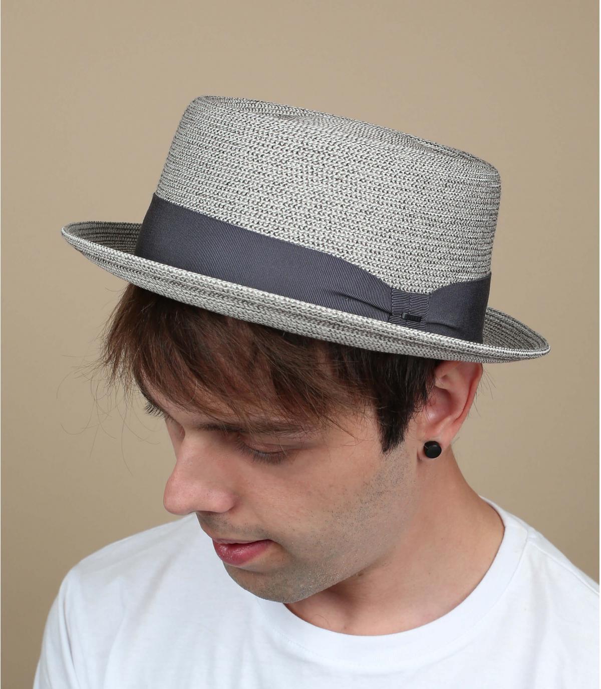 Grijs herren hoed