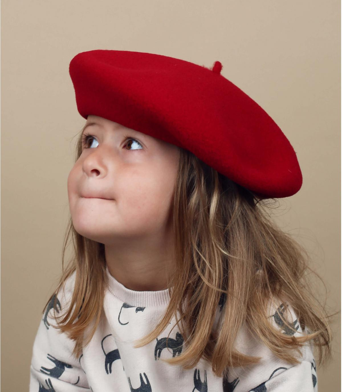 Kinderen Franse baret