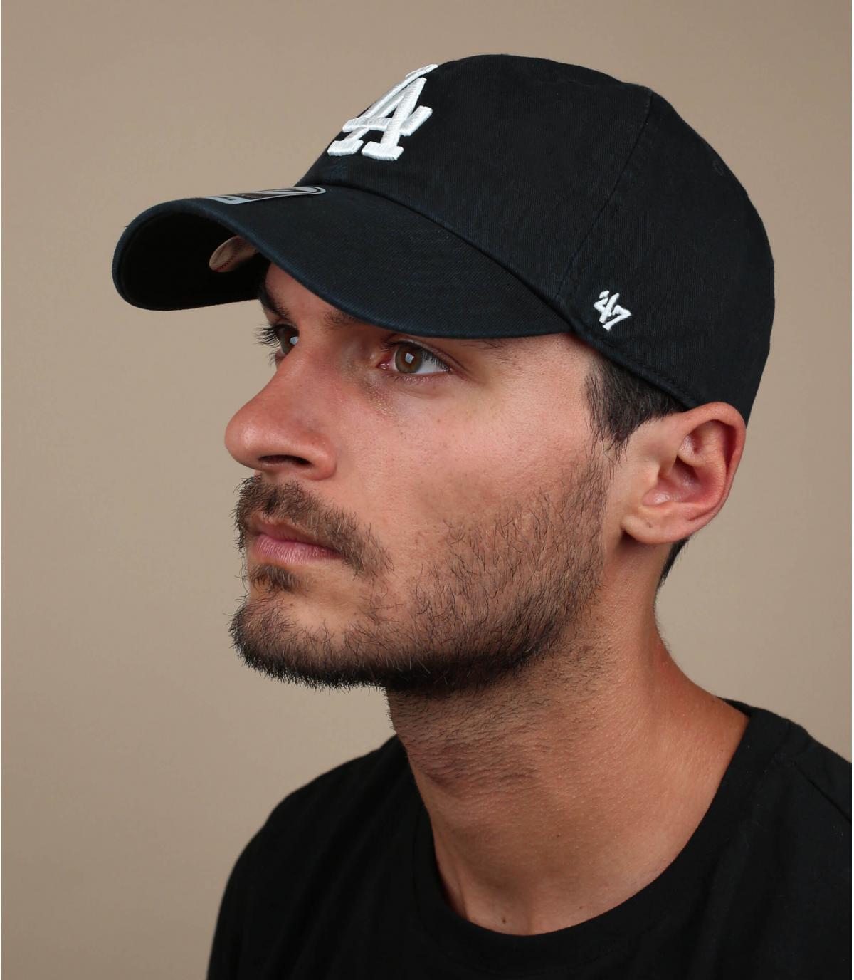 Zwart LA cap