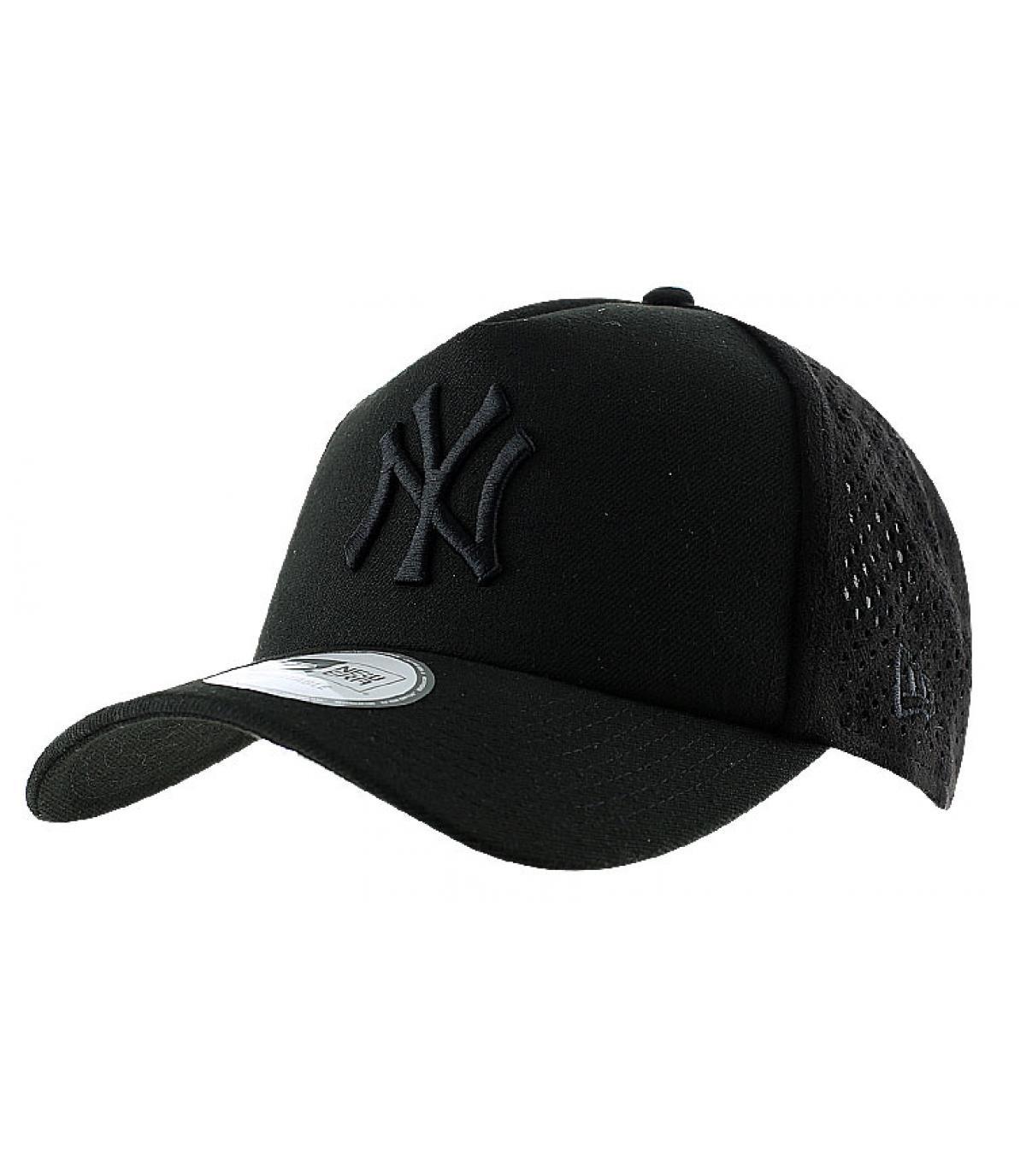 New era zwart mesh cap