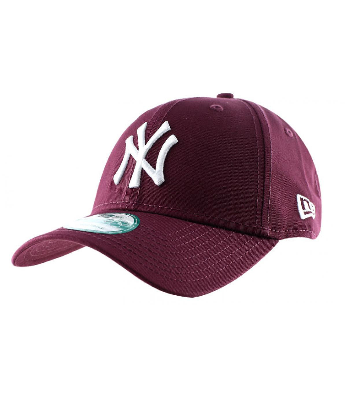 Details League essential Ny maroon - afbeeling 2