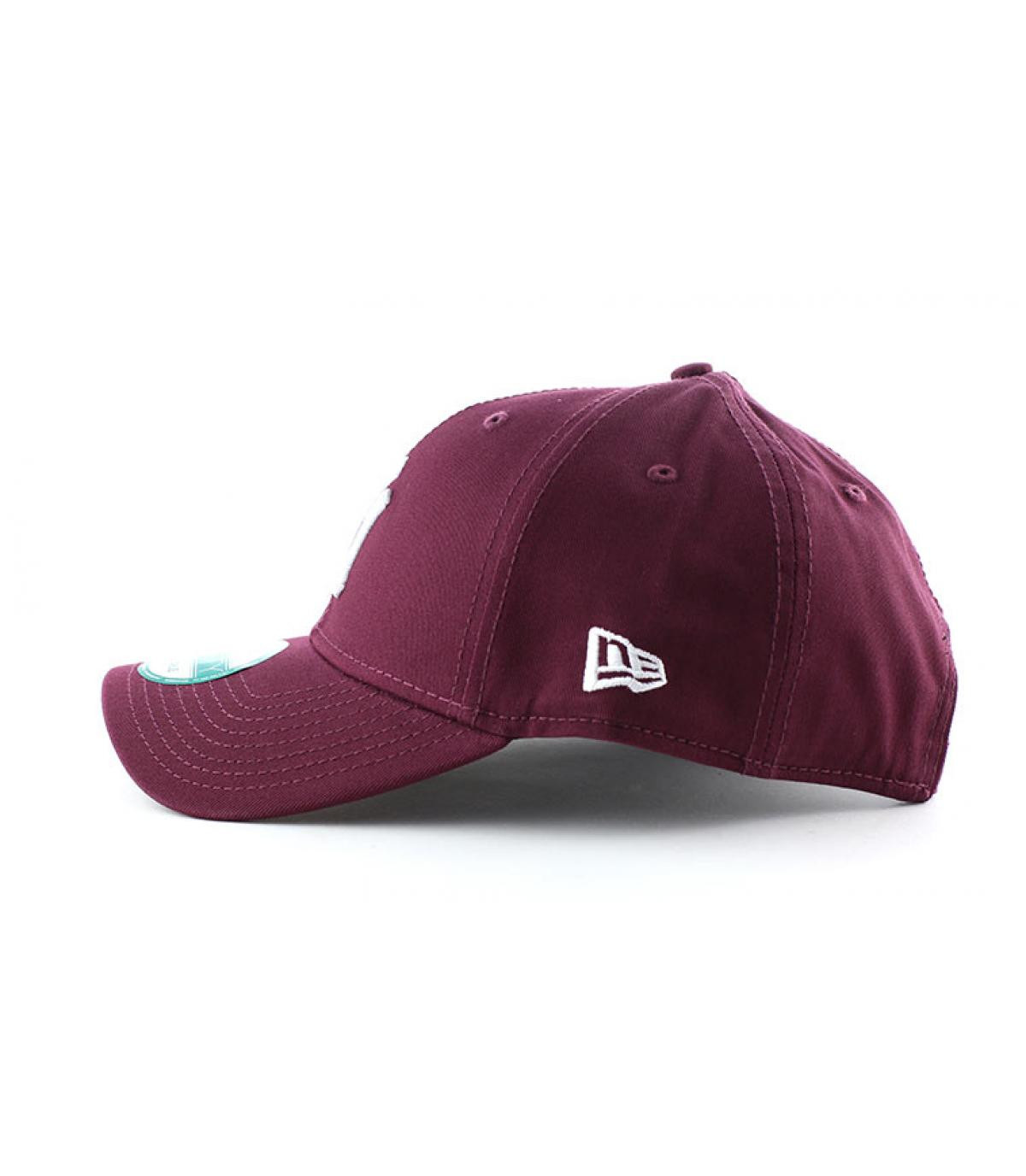 Details League essential Ny maroon - afbeeling 4