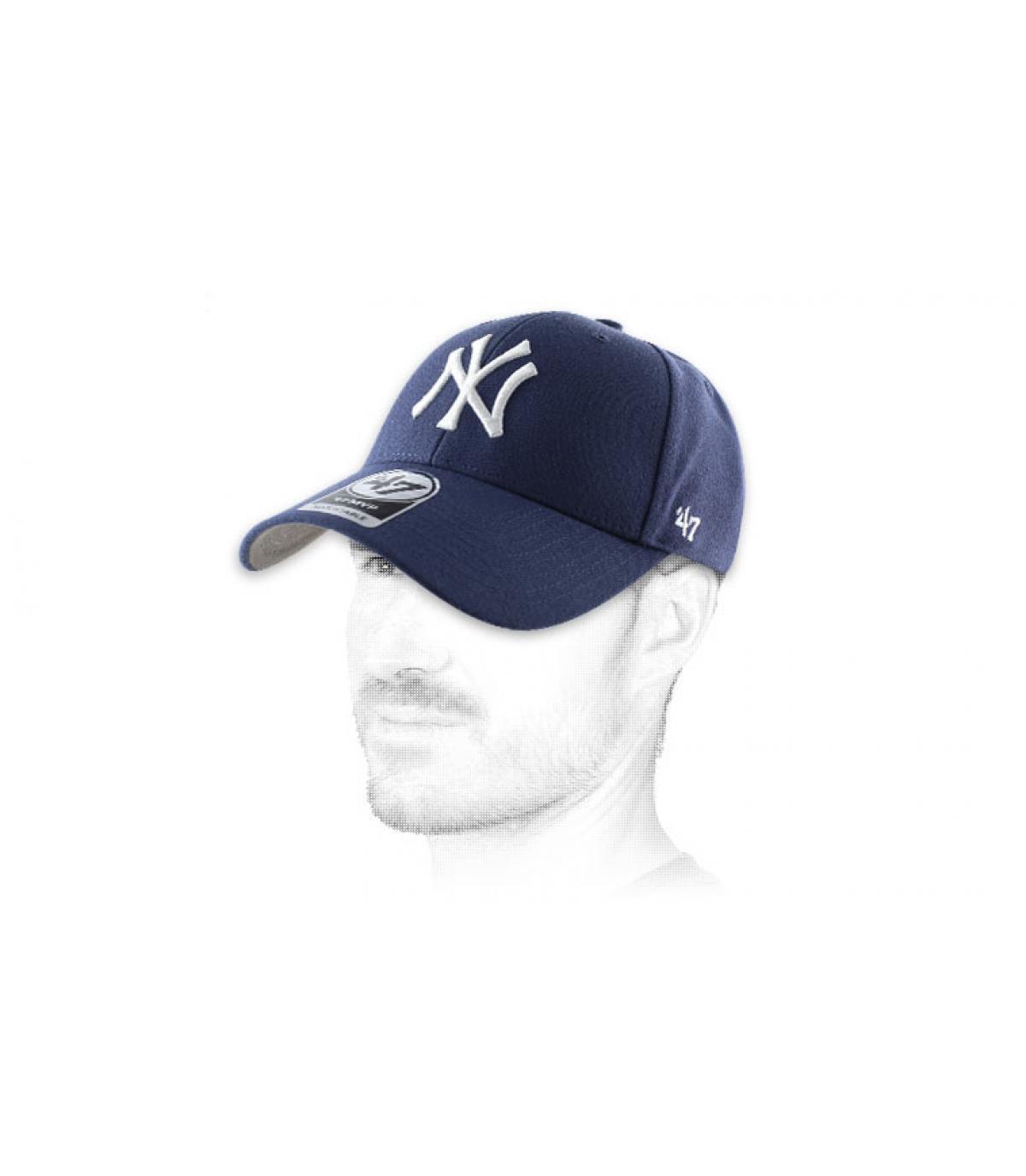 Curve cap gebruikte katoen