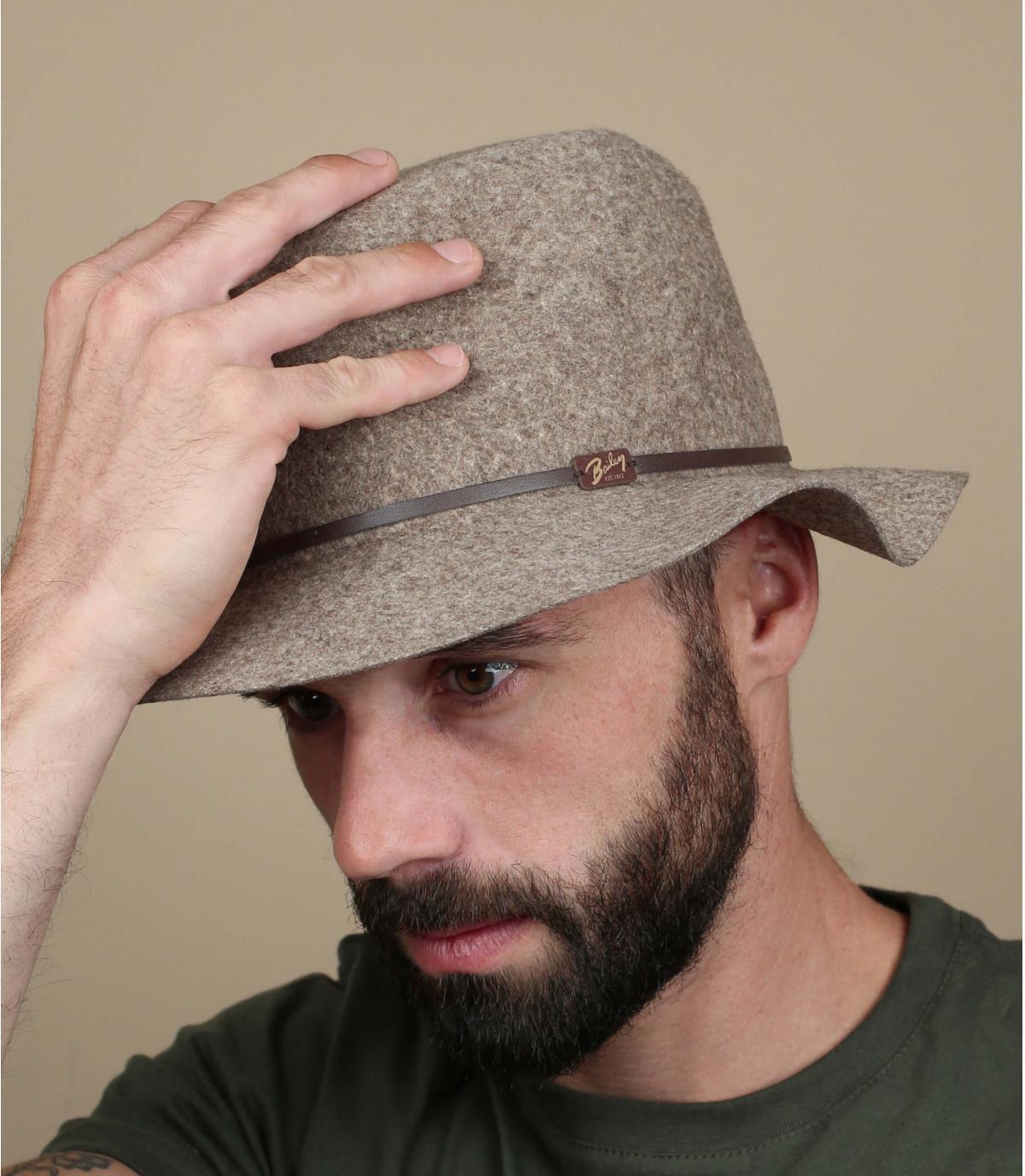 Flexibele rand hoed mannen