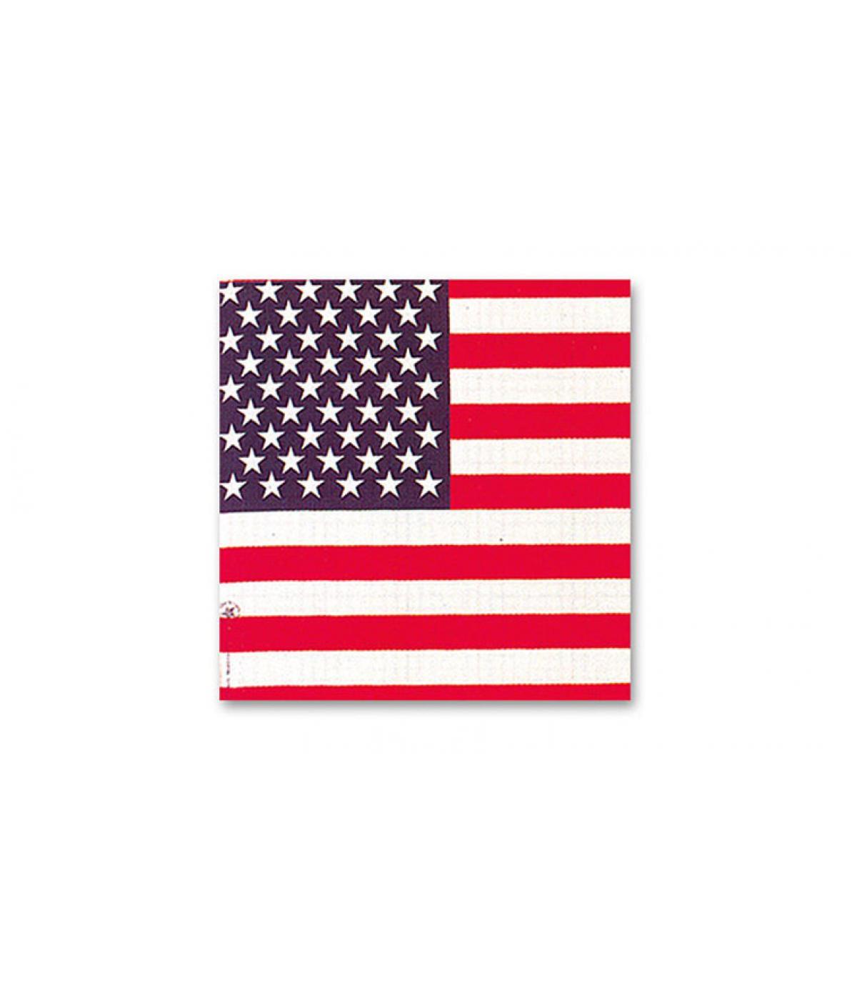 Amerikaanse vlag bandana