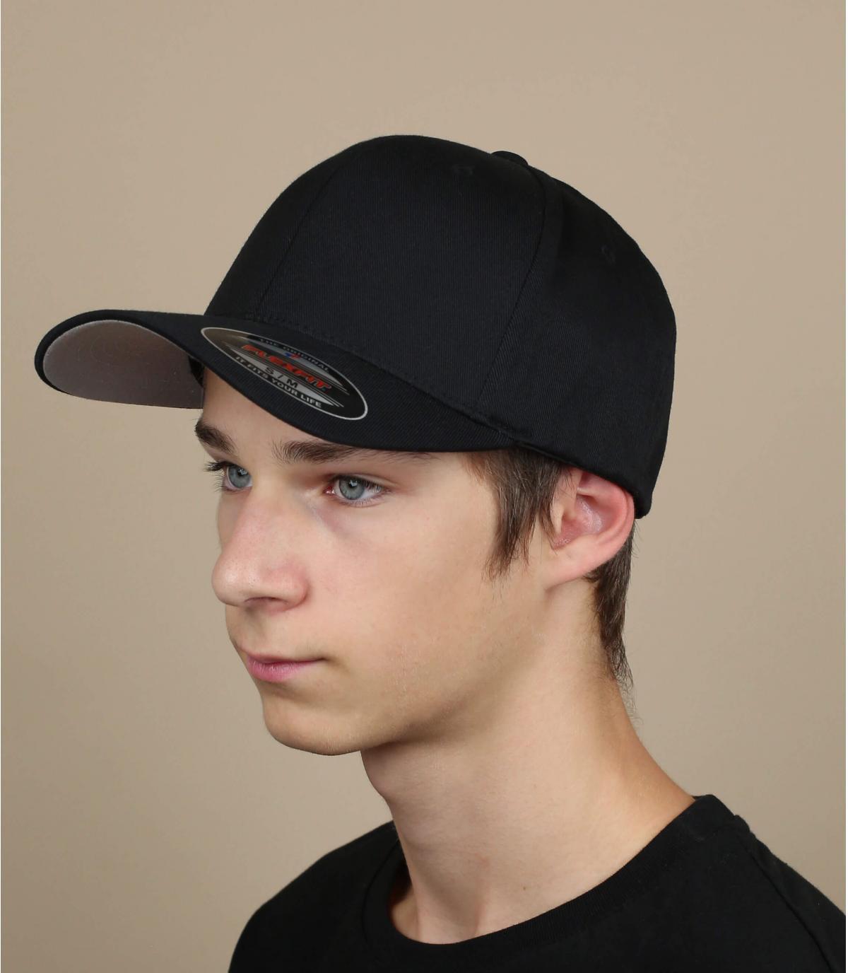 Cap zwart flexfit