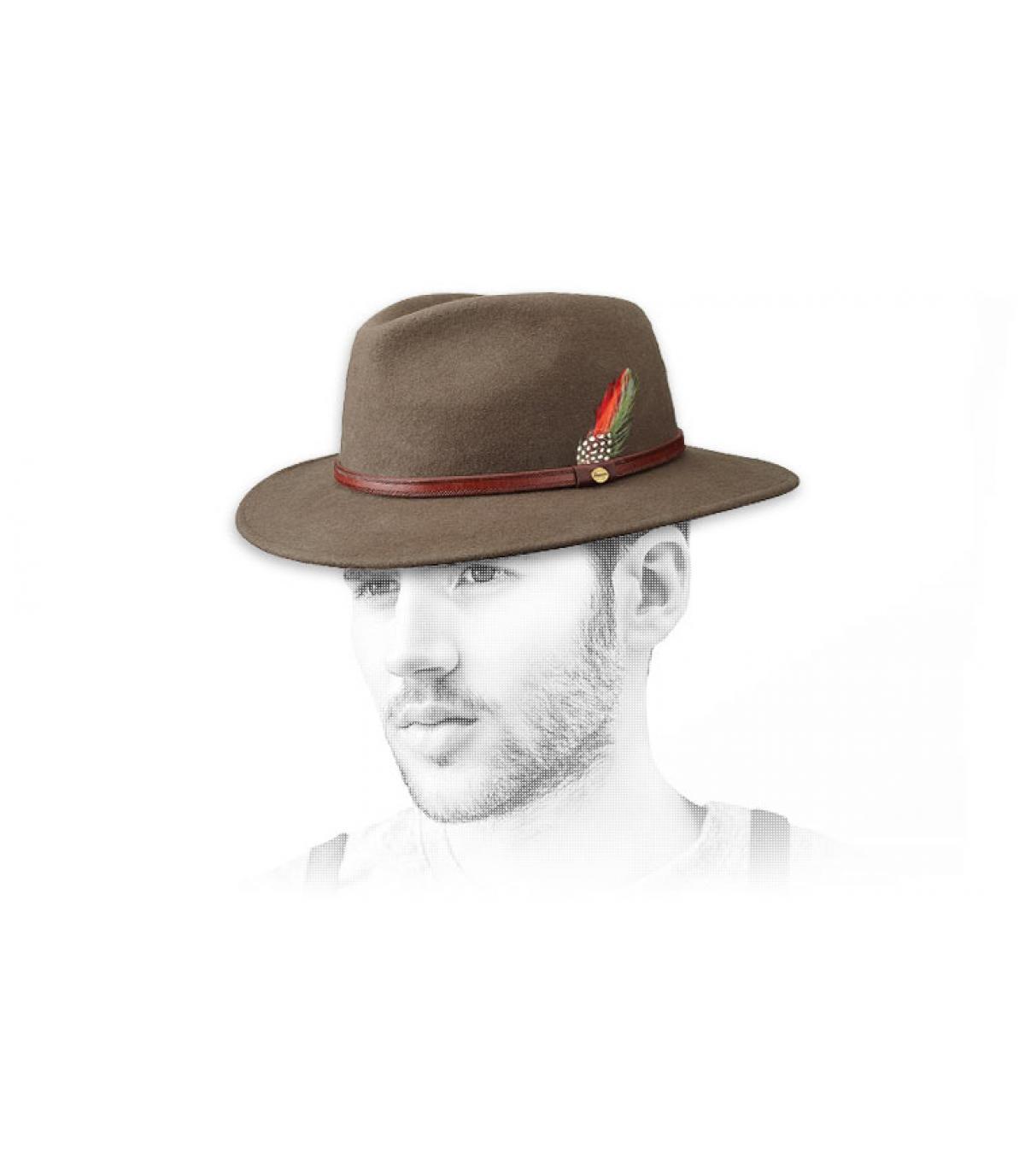 Atlanta beige Stetson hoed