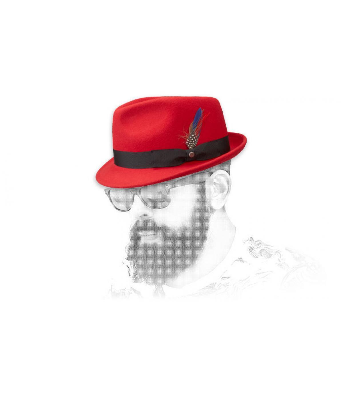 Men rode hoed