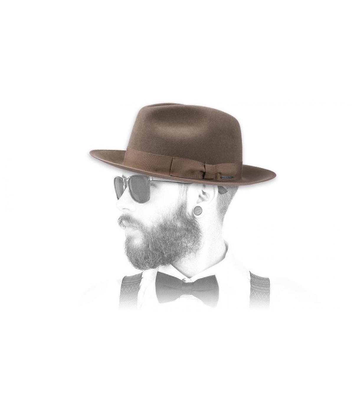 Fur vilten hoed Stetson
