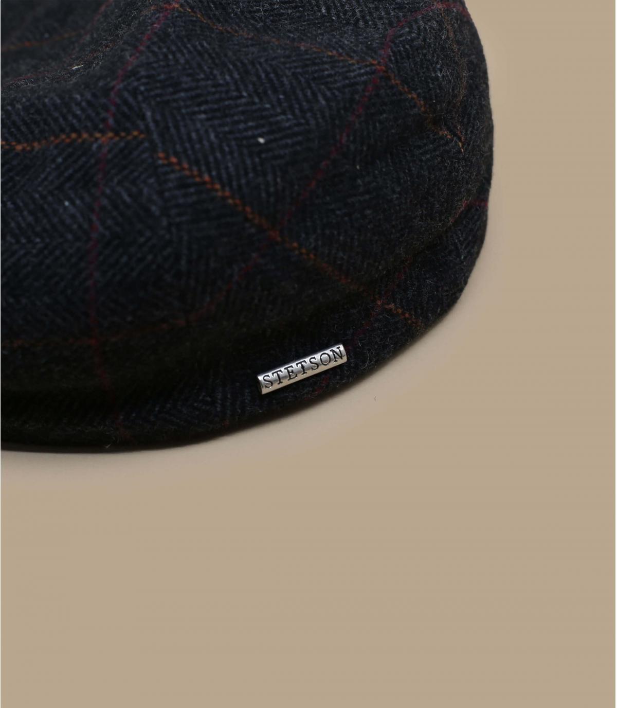 Details Kent wool Earflap grey - afbeeling 2