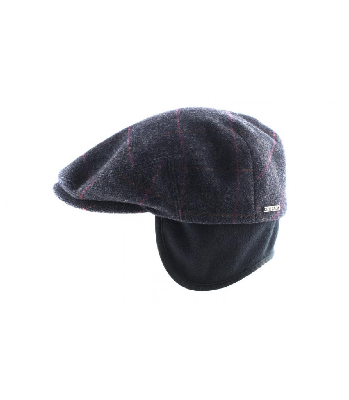Details Kent wool Earflap grey - afbeeling 4