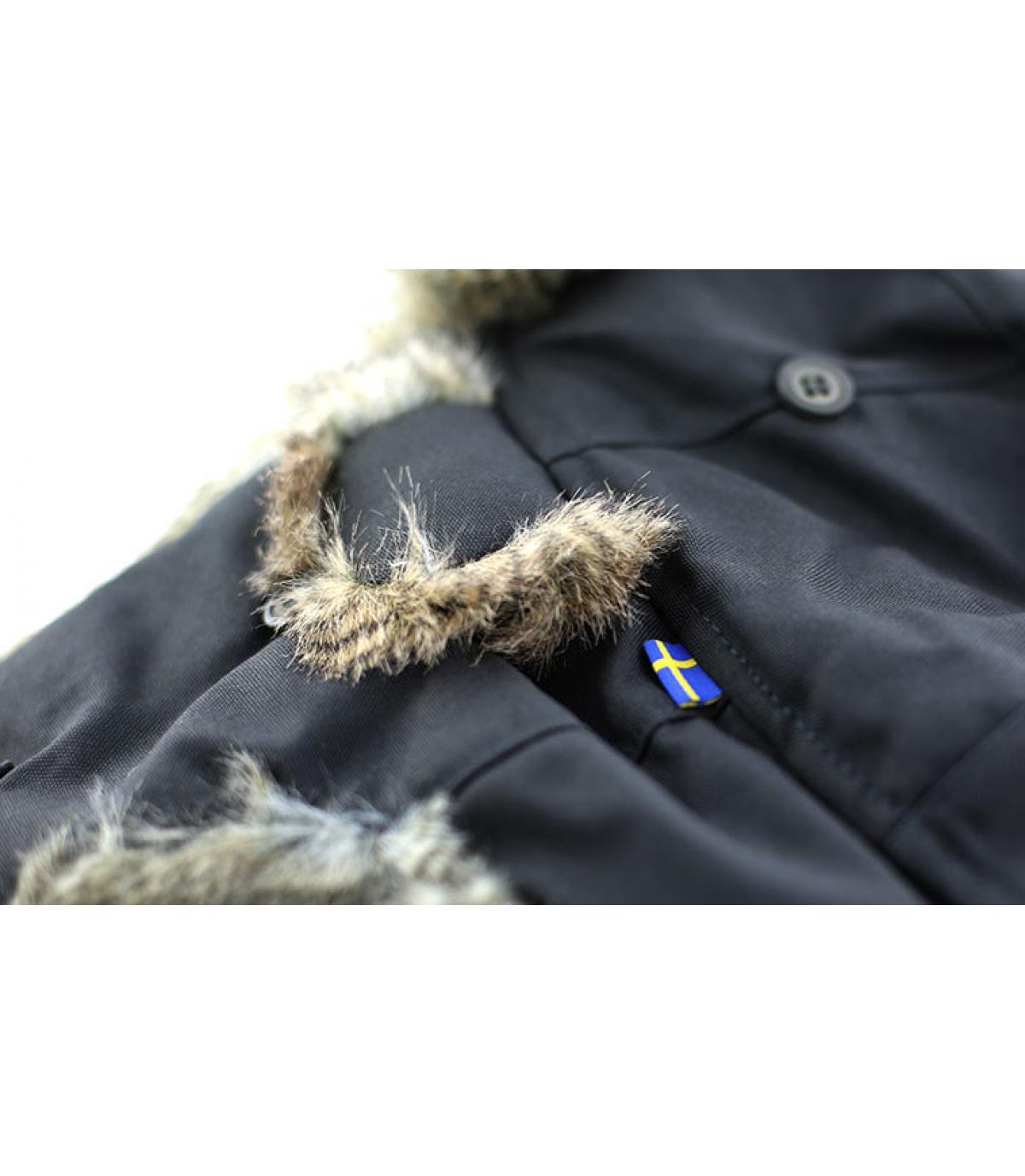Details Singi heater dark grey - afbeeling 3