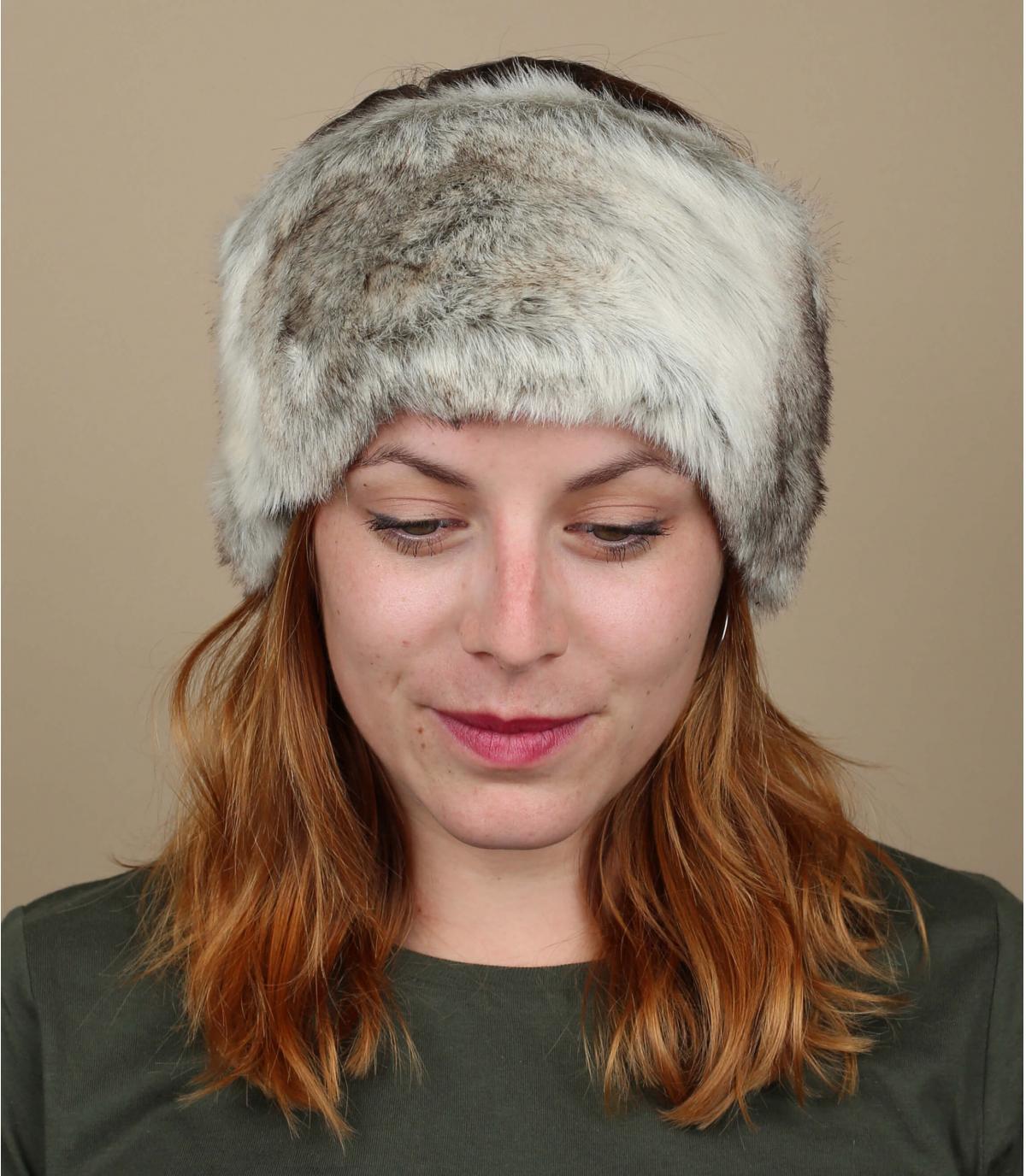 Grijze hoofdband