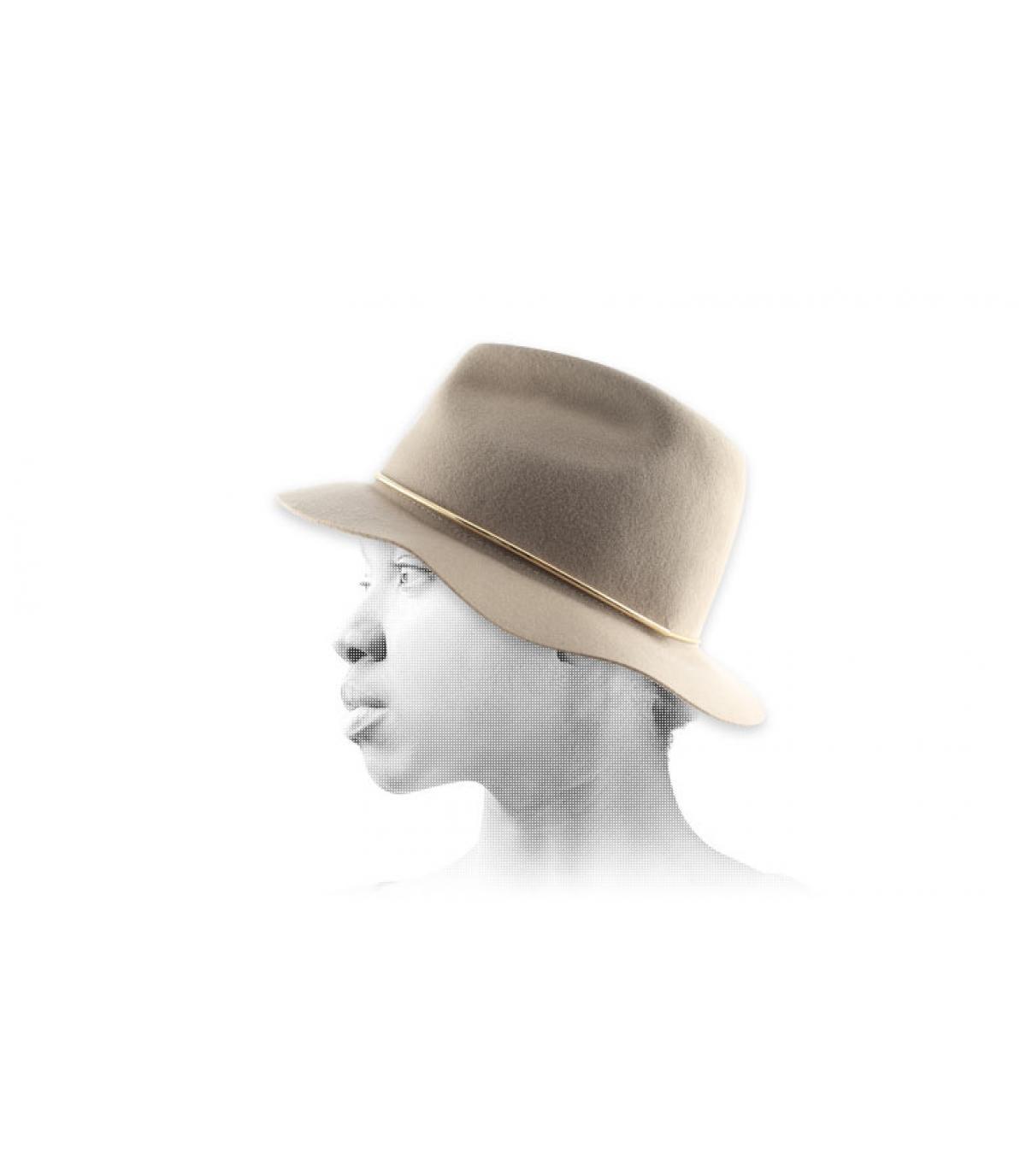 Vrouwen fedora hoed